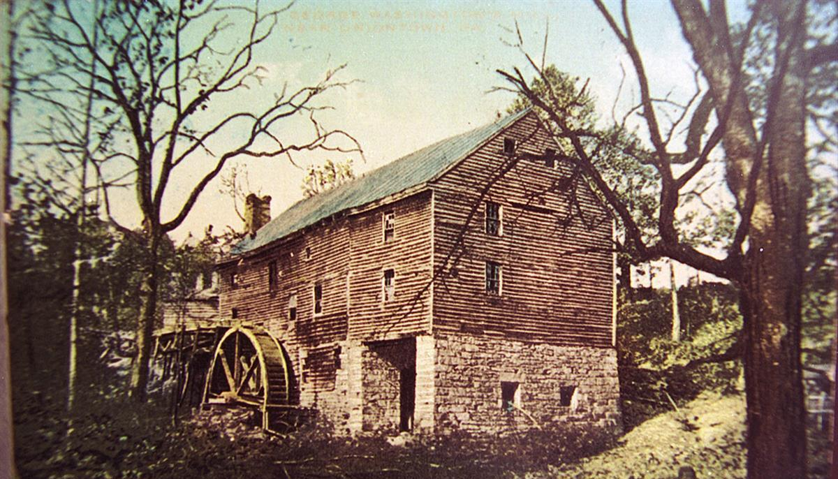 Historic Washington's Grist Mill at Harry Sampey Park